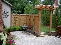 At Rosehill Gardens we offer landscaping services with a personal touch. Call us today at (816) 877-9175 or visit one of our Kansas City garden centers or visit our Arbors & Pergolas Gallery page!