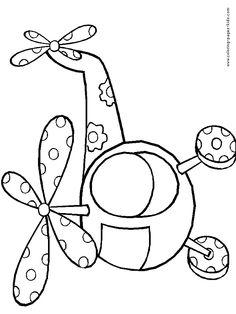 Free Printable Transportation Coloring Pages