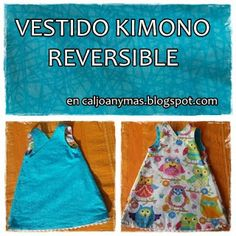 Cal Joan y más: VESTIDO KIMONO REVERSIBLE