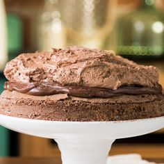 Wet Cake with Chocolate Mousse and Hazelnut Cream Baking Recipes, Cake Recipes, Snack Recipes, Dessert Recipes, Salty Cake, Homemade Chocolate, Nutella Chocolate, Chocolate Hazelnut, Chocolate Cream