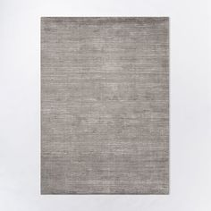 Textured Stripe Rug, 5'x8', Gray