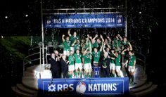 Ireland - RBS 6 Nations champions 2014