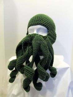 Cthulu ski mask ... be the coolest bank robber ever.