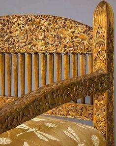 Belle Epoch settee designed by Louis Comfort Tiffany.