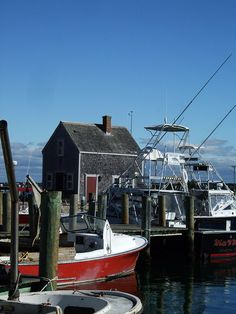 Marthas Vineyard love it- we biked all over the island and had lunch right by this fishing dock-fresh in and pick it out