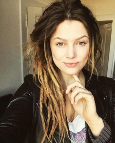 "5,988 Likes, 21 Comments - Dreads ❤️ Dreadlocks ☺️ Дреды (@beautydreadlocks) on Instagram: ""Beauty @tryptaminea Thank you for dreadlocks in @beautydreadlocks❤️…"""