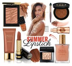 """""""Saturday"""" by chrisger on Polyvore featuring beauty, Estée Lauder, Obsessive Compulsive Cosmetics, Gucci, Yves Saint Laurent, Bobbi Brown Cosmetics, NARS Cosmetics and Benefit"""