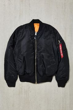Alpha Industries X UO Slim-Fit MA-1 Bomber Jacket