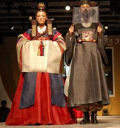 Taerye or Great Ritual in a Korean wedding symbolizes the linking of 2 families, instead of the joining of the bride and groom. And the classic Korean costume Hanbok tend to be in a range of colors and various kinds of fabrics. and worn by Korean bride and groom as well as children for over 2,000 years.