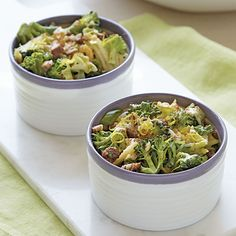 Broccoli Slaw with Candied Pecans - Shape.com