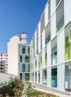 Patronage Laique & Social Housing / LAPS Architecture + MAB Arquitectura