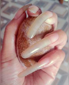 Long Natural Nails, Long Nails, Fancy, Beautiful, Cute Nails