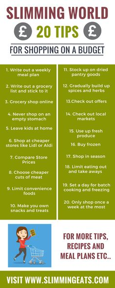slimming world helpful tips