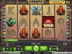 Egyptian Heros – NetEnt Games