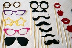 Great Photo Booth Ideas by The Thrifty Mistress!
