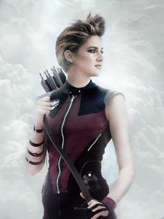 Shailene Woodley as Hawkeye | Someone Swapped The Genders Of The Avengers And It's Perfect