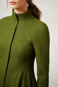 Fashion Coat and sewing details // détail de couture sur cette veste #fashion