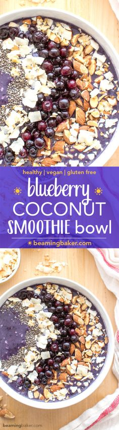 Blueberry Coconut Sm