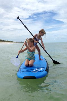 SUP with the kids! Tips on getting your family started with Stand Up Paddleboarding.