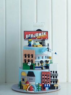 Lego City Cake SetCottontail Cake Studio | Sugar Art & Pastries
