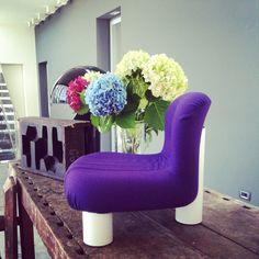 arflex - Botolo armchair design Cini Boeri  #arflex #armchair #ciniboeri #botolo #flowers