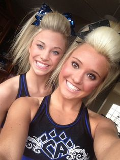 Jamie Andries and Peyton Mabry