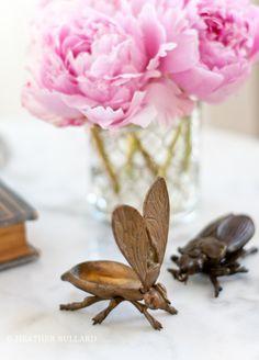 Brass Bugs w/ Hinged Wings