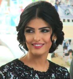 Princess Ameerah Al-Taweel of Saudi Arabia, she's inspirational..and her hairstyle's pretty cool too :)