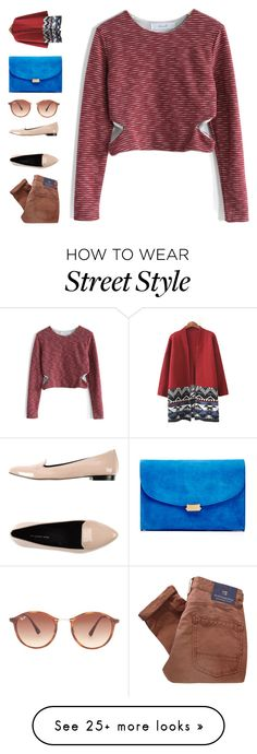 """""""i'm yours"""" by ouchm4rvel on Polyvore featuring Chicwish, megumi ochi, Ray-Ban and Mansur Gavriel"""