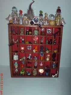 Apothecary shelf. One of a kind handmade original. Etsy  magicalcuriosityshop