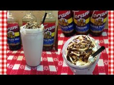 Iced Turtle Frappe ~ Torani Friday~ Noreen's Kitchen - YouTube