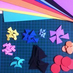Today's #DIY project - foam grammar symbols #montessorielementary #montessorigrammar #montessorilearning #montessoridiy