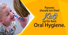 #Oralhygiene greatly affects overall long-term health and promotes a more confident you. When it comes to dental care, prevention through daily cleaning and regular visits to the dentist's office is better not only for your health but for your budget. That's why it's important for parents to play a key role in reinforcing smart oral hygiene habits. Kids are likely to follow in the footsteps of those who set positive examples and will carry those healthy habits through their own adult lives. Dental Health, Dental Care, Daily Cleaning, Best Oral, Kids Up, Dentist In, Dental Implants, Oral Hygiene, For Your Health