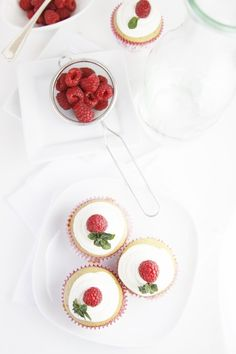 raspberry tea cupcakes