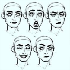 Art techniques, face reference, drawing reference, drawing tips, human face Character Design Cartoon, Character Design References, Character Design Inspiration, Character Art, Character Design Tips, Facial Expressions Drawing, Anime Faces Expressions, Doodle Drawing, Sketches Tutorial
