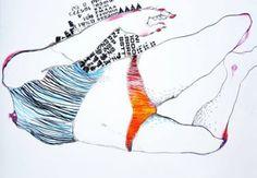 Kasia School Of Visual Arts, Letter Art, Artists Like, Vintage Fabrics, Contemporary Paintings, Figure Drawing, Find Art, Art For Sale, Saatchi Art