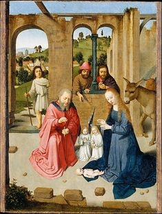 The Nativity (early 1480s)   Gerard David (Netherlandish, Oudewater ca. 1455–1523 Bruges)
