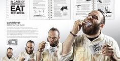 Edible survival guide by Land Rover