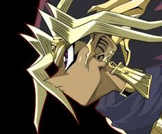 Yami back when he was pharaoh! <-- The only person to corner the market on sexiness for FIVE THOUSAND YEARS.