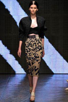 Donna Karan - Spring RTW 2015