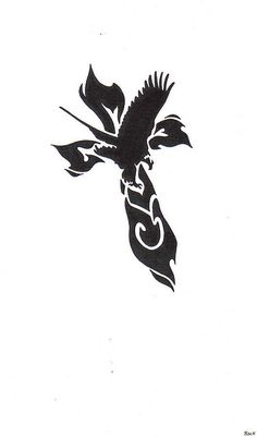 Eagle & Cross Tattoo by thewooddevil, via Flickr