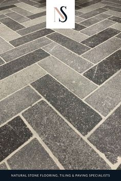 Our unique blend of the Belgian blue limestone aged finishes, selected to create a stunning floor and wall tile suitable for use inside and outside. The Belgian blue herringbone limestone tile creates an impact in kitchens and utility rooms, as well as helping create a strong garden design. Shop the natural stone tiles on the website today. #naturalstoneconsulting #naturalstonetiles #limestonetiles Limestone Tile, Stone Tiles, Utility Room Designs, Belgian Blue, Natural Stone Flooring, Herringbone Tile, Antique Tiles, Flooring Options, Interior Design Inspiration