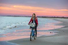 Beach Bike Ride - Gal Meets Glam
