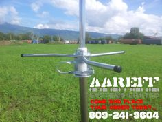 new and improved 5/8 high gain antenna holds upto 800w.... come and get yours today