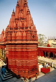 aranasiDurga.jpg1 of 1 Durga Hindu Temple in Varanasi, India Copyright © Dennis Cox / WorldViews