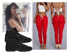 """""""{{Outfit"""" by trill-anons-youwant ❤ liked on Polyvore featuring NIKE"""