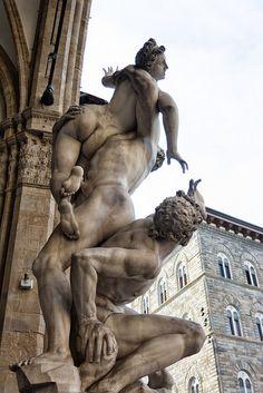 Loggia dei Lanzi. Florence, Toscana, Italy