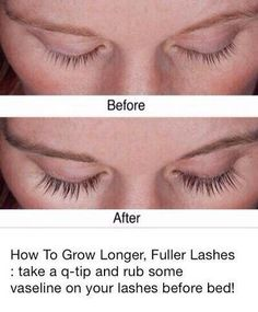 How to grow longer fuller lashes