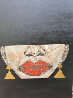 """Red lips"" Andreea Matusoiu"
