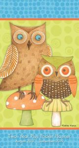 Title: 2018 Owls Debbie Mumm Checkbook/2 Year Pocket Planner Calendar, Author: Debbie Mumm
